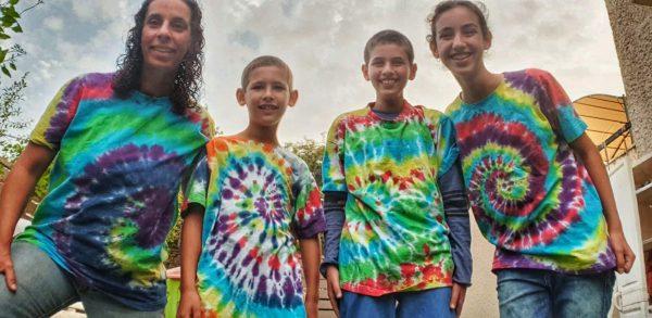 group tie dye shirts