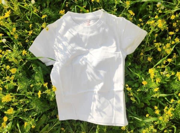 shirt without dye