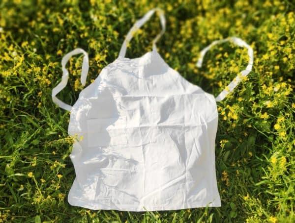 apron without dye